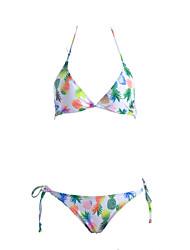 Womens Sexy Pineapple Triangle Bikini