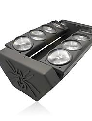araignée u'king® 8 * 15w 8leds RGBW 4 dans une couleur DMX effet de l'étage de tête 1pcs de lumière