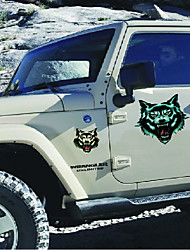 16 X Joke Wolf Eagle Monster Sticker For Motorcycle BIKE CAR UNIT SCOOTER DECALS Skateboard Graffiti Snowboard Bags STICKERS