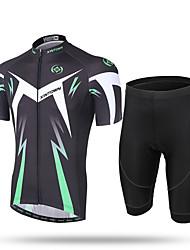 XINTOWN® Transformation Men's Cycling Jersey Shorts Sleeve Bicicleta Bike Skinsuits Suit Shirts 3D Cushion Padded Cycle Racing Jacket Clothing Wear