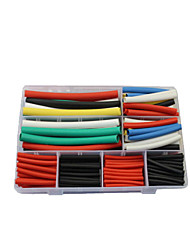 224Pcsdeluoqi Home Suit Combination Heat Shrink Tubing Iphone5/6/7Data Cable Headset Line Heat Shrink Tubing
