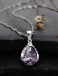 Pendants Crystal Crystal Basic Purple Jewelry Daily Casual 1pc