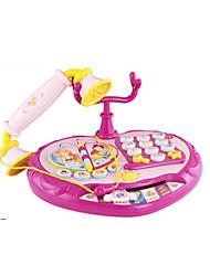 Telefones de Brinquedo Brinquedos Clássicos & Retrô Quadrangular Brinquedos Plástico Rosa 5 a 7 Anos 8 a 13 Anos
