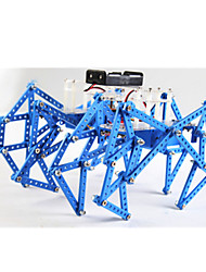 Jouets Pour les garçons Jouets de Dé ouverte Robot Métal Plastique Bleu