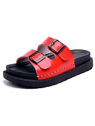 sandales gladiator été similicuir robe décontractée en plein air talon compensé métallique orteil marche