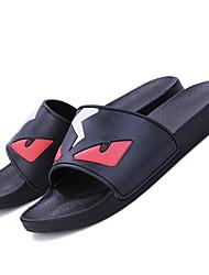 Men's Sandals Spring Summer Light Soles Synthetic Outdoor Casual Low Heel Black Blue Gray