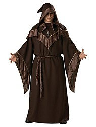 European Religious Men Priest Uniform Adult Mens Gothic Wizard Costume  Fancy Cosplay Halloween Costumes for Men