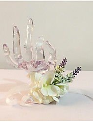 """Wedding Flowers Hand-tied Wrist Corsages Wedding Party/ Evening Dried Flower 6.69""""(Approx.17cm)"""