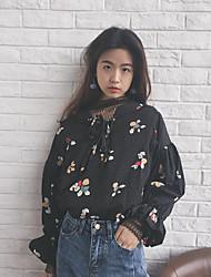 Корейская версия весной и летом цветочные рубашки