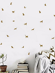 Cat Shape Wall Stickers Vinyl Material Home Decoration