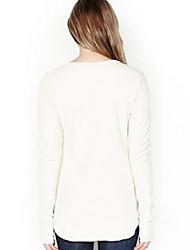 amazon aliexpress ebay Europa Explosion Modelle wilde Mode lässig Pullover Rundhals-T-Shirt-Druck
