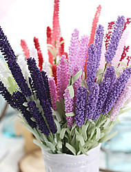 Foam Lavender Wedding Artificial Flowers Bouquets for Lady Eco-friendly Material Wedding Decorations-Non-personalized 1 pc