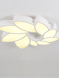 Modern Style Simplicity LED Ceiling Lamp Metal Flush Mount Living Room Bedroom light Fixture