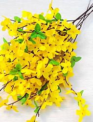 1 Une succursale Plastique Chrysanthème Fleur de Table Fleurs artificielles 20*20*50