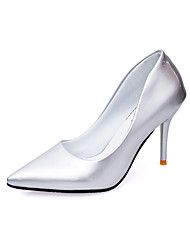 Women's Heels Spring Summer Fall Winter Club Shoes Comfort PU Patent Leather Wedding Office & Career Party & Evening Dress CasualStiletto