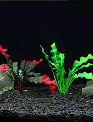 Decorazioni Acquario Pianta marina Artificiale Plastica