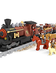Stress Relievers For Gift  Building Blocks Model & Building Toy Train ABS 5 to 7 Years 8 to 13 Years Khaki Toys