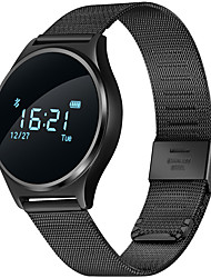 moniteur cardiaque montre intelligente en temps réel la tension artérielle ratepedometer écran tactile oled Bluetooth 4.0 h bp