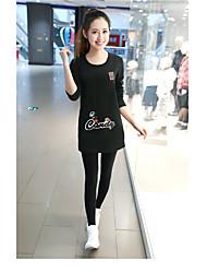 2016 Frühjahr große Langarm-T-Shirt Mädchen langer Punkt dünnes war dünn und dick Samt Baumwollhemd