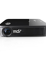 M90 DLP WXGA (1280x800) Proyector,LED 3000 Mini Portable HD Android Wireless 3D DLP Proyector