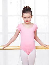 Danse classique justaucorps Enfant Entraînement Coton Elasthanne 1 Pièce Collant