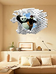Cartoon Abstract Fantasy Wall Stickers 3D Wall Stickers Decorative Wall Stickers,Paper Material Home Decoration Wall Decal