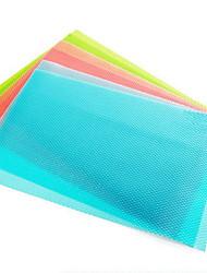 4-х частей антибактериальное холодильник лайнера коврик вырезать по мере шкаф ящик площадку (ramdon цвет)