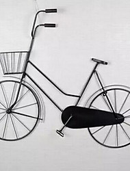 Wall Decor Iron Retro Wall Art Background Decorations Wall Bikes