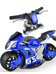 Motorcycle 1:16 Gas RC Car AM Blue Ready-To-Go Remote Control Car
