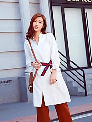 2017 spring new Korean Slim fashion dress