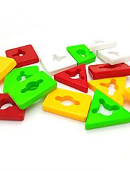 Jenga Geometry Matching Children Toy Building Blocks Logic & Puzzle Toys Leisure Hobby Toys Novelty Circular Square Cylindrical