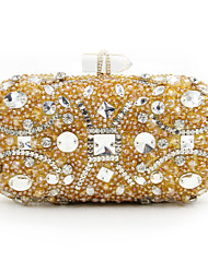 L.west Women Elegant High-grade Diamonds Sequins Evening Bag