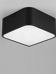 Flush Mount ,  Modern/Contemporary Painting Feature for LED Metal Living Room Bedroom Dining Room Kitchen