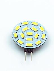1W G4 Luminárias de LED  Duplo-Pin T 15 SMD 5730 200 lm Branco Quente Branco Frio Decorativa V 1 pç