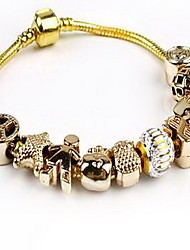 Chain Bracelet Crystal Natural Fashion Jewelry Pink Jewelry 1pc