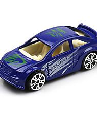 Rennauto Spielzeuge 1:64 Metall Plastik Blau