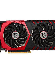 MSI Video Graphics Card GTX1060 GTX 1060 GAMING X 6G 1594-1809MHz/8100MHz6GB/192 бит GDDR5