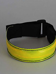 Safety Lights Reflective Wristbands Compact Size for Camping/Hiking/Caving Cycling/Bike Outdoor Climbing-Green White Red Yellow Pink