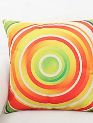 1 pcs Polyester Pillow Cover,Graphic Prints Accent/Decorative