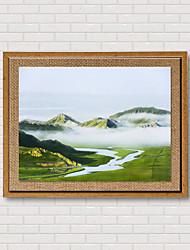 Художественная печать Известные картины Пейзаж Классика Реализм,1 панель Горизонтальная Панорамный Печать Искусство Декор стены For