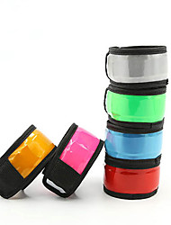 Safety Lights Glow Belt Reflective Wristbands Compact Size for Camping/Hiking/Caving Cycling/Bike Climbing Outdoor-Green White Red Yellow