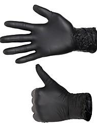 Gants Polycarbonate Noir Fournitures Tatouage fournitures de tatouage