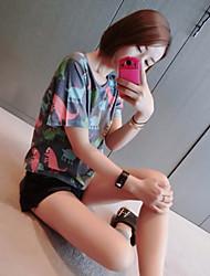 unterzeichnen koreanische Fan lose Frauen&# 39; s Kurzarm-T-Shirt-Druck-T-Shirt T-Shirt