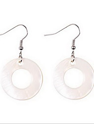 Drop Earrings Earrings Set Jewelry Shell Alloy Fashion Simple Style White Jewelry Daily Casual 1 pair