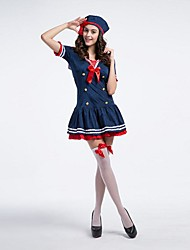 Womens Sexy Halloween Navy Costumes Adult Seaman Costumes Fancy Moon Sailor Costumes For Halloween
