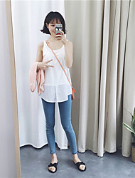 assinar ~ versão coreana do longa seção de solta dentro da camisa feminina backing passeio camisole