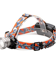 U'King® ZQ-X830S CREE XML-T6 LED 2000LM Zoomable 180 Rotate 3Modes Headlamp Bike Light with Rear Safety LED