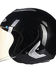 REUS 607B Motorcycle Half Helmet Warm Helmet ABS Material