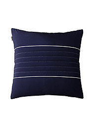 turqua NAVY STORY High Quality 100% Cotton Navy Blue Cushion Cover Brief Fresh Modern Pillow Case for Fofa/Chair/Car/Couch