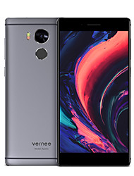"Vernee Apollo 5.5 "" Android 6.0 4G Smartphone ( Dual - SIM Deca Core 21 MP 4GB + 64 GB Grau )"